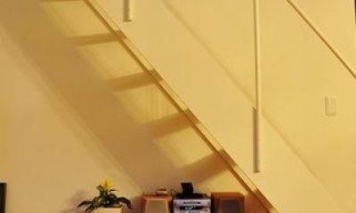 2世帯住宅+エステサロンの併用住宅 (階段下スペース)