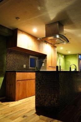 グリーンの家 (キッチン)