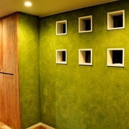 グリーンの家