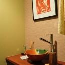トイレ内洗面スペース