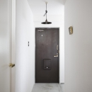 ヴィンテージテイストの玄関
