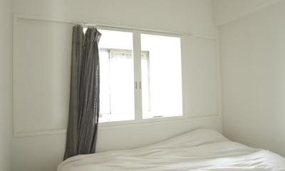 光と風が入るベッドルーム|O邸・シンプルナチュラルなあたたかさ