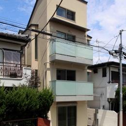 東京都世田谷区 H邸 (面積の制限を受けない範囲をできるだけ大きく設けた住宅)