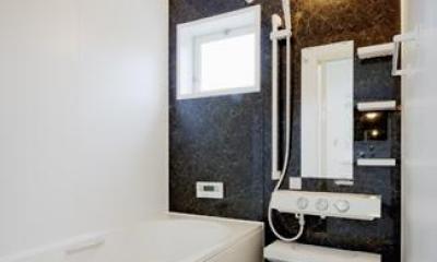 シンプルモダンな浴室 『Mz邸』ヨーロピアンテイストの住まい