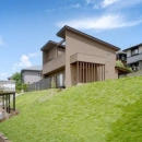 清水健二の住宅事例「『眺望の家』レトロモダンな住まい」