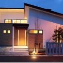 木田智滋の住宅事例「House 03『温かみ溢れるコートハウス』」