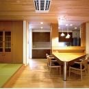 木田智滋の住宅事例「Reform 01『三角ダイニングテーブル』」