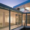 『sukatto』厳しい気候でも活力ある暮らしができる家の写真 サンルーム-夜景