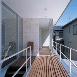 『sukatto』厳しい気候でも活力ある暮らしができる家 (開放的な2階テラス)