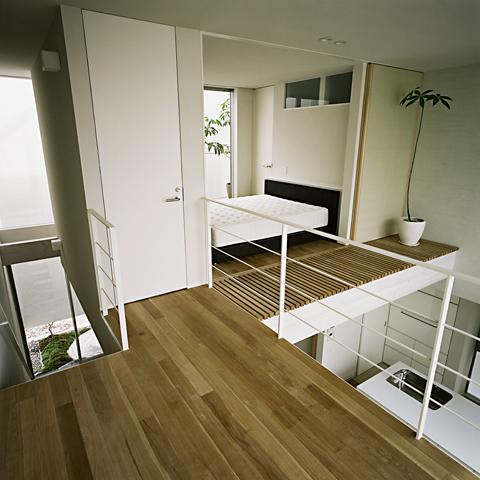 方 庵の部屋 寝室空間