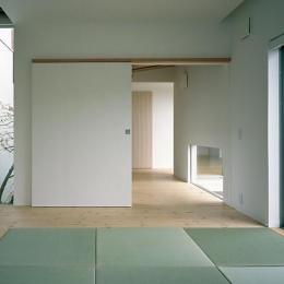 彩 庵 (はなれにある平屋の和室)