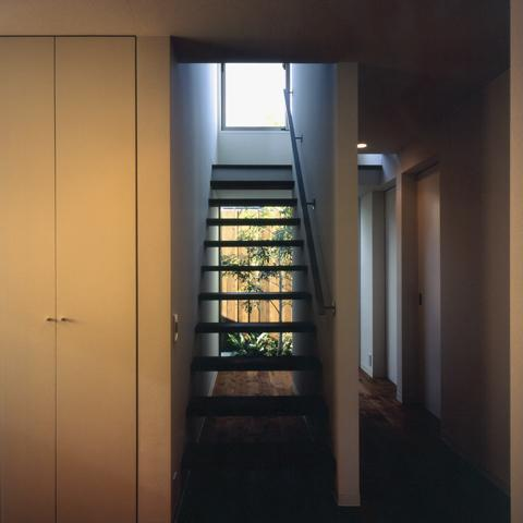 Solar Wingの部屋 光を目指す階段