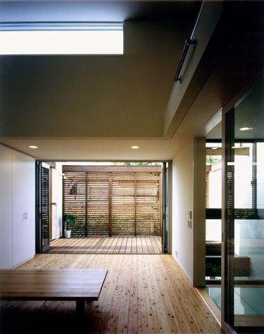 大和郡山の家の部屋 開放感あふれるリビング