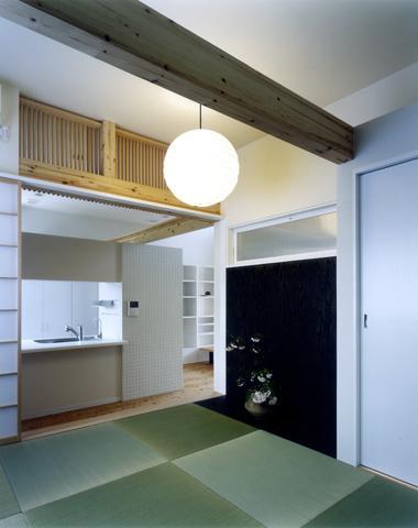 大和郡山の家の部屋 落ち着く和室