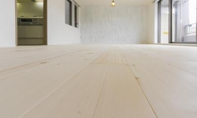 北欧Style+和室=ギャップを楽しむ家。 (リビング③)