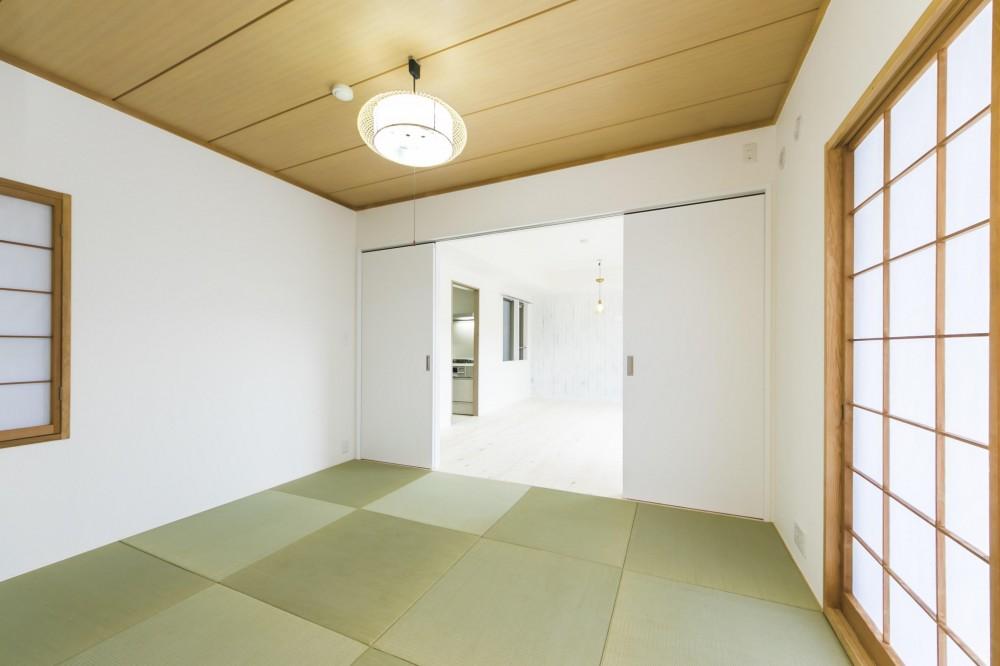 北欧Style+和室=ギャップを楽しむ家。 (和室)