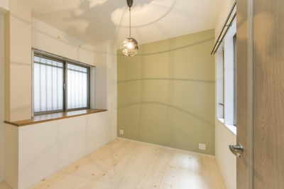 子供部屋 (北欧Style+和室=ギャップを楽しむ家。)