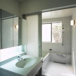 目黒区リノベーションの部屋 バスルーム