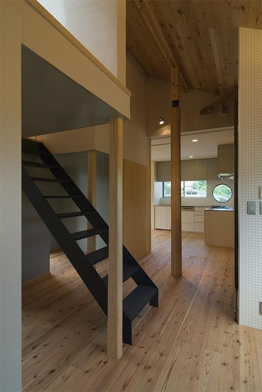 目黒区スケルトンリフォームの写真 ロフト用階段