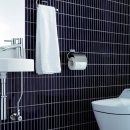 タイル張りのトイレ