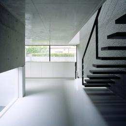 目白の家 (階段)