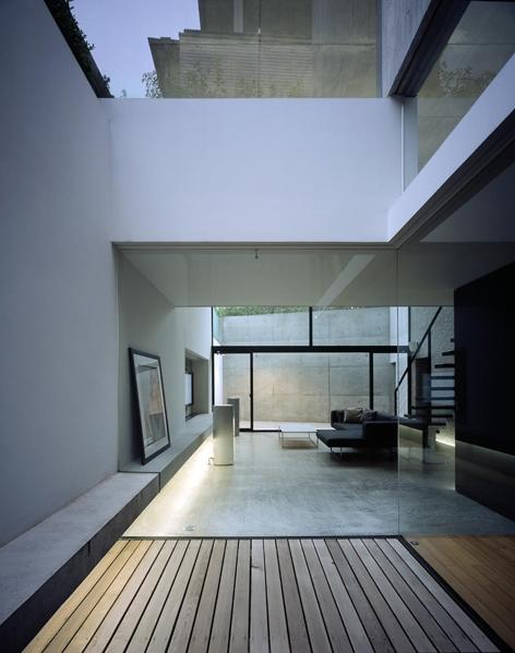目白の家の部屋 テラス