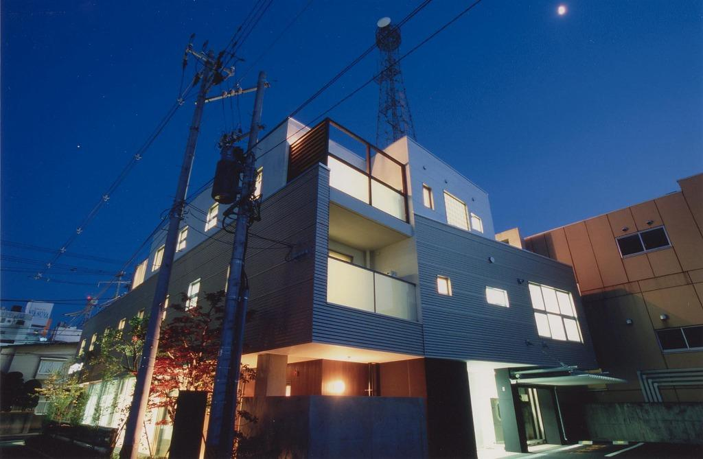 2世帯住宅の部屋 外観