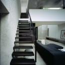目白の家の写真 リビング階段