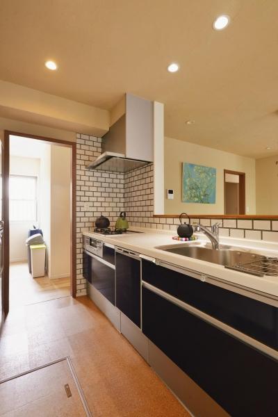 キッチン (Smorky colorで作る CAFE時間)