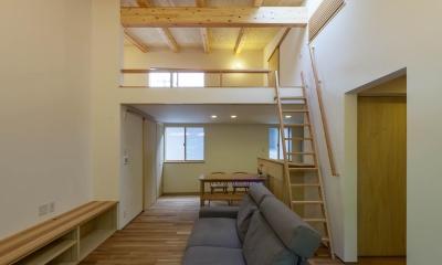 旧軽井沢の家 (リビングダイニングリビングダイニング)