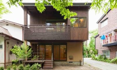 旧軽井沢の家 (外観)