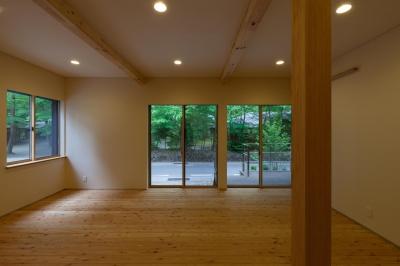 旧軽井沢の家 (多目的室)