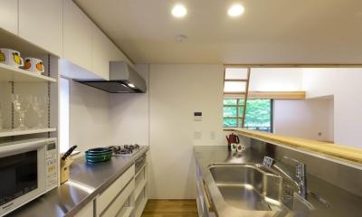 旧軽井沢の家 (キッチン)