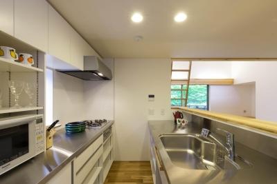 キッチン (旧軽井沢の家)