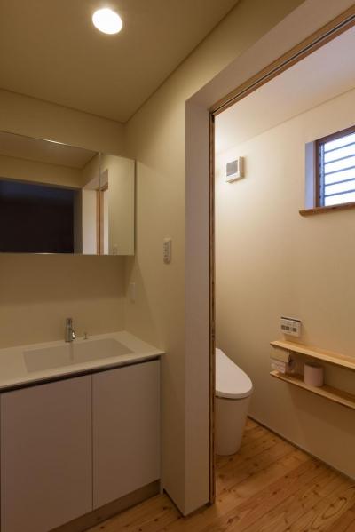 洗面 (旧軽井沢の家)