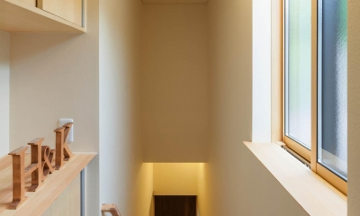 旧軽井沢の家 (階段)