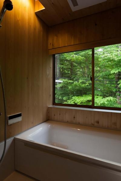 浴室 (旧軽井沢の家)