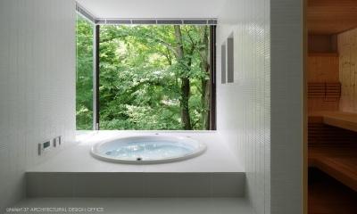 035カルイザワハウス (浴室)