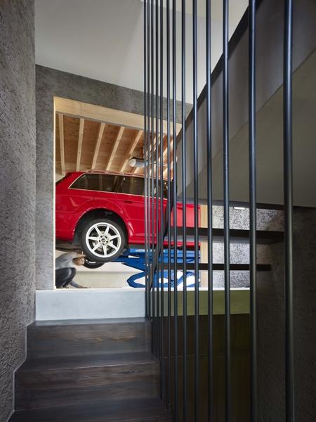 荻窪の家の部屋 階段