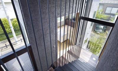 荻窪の家 (階段)