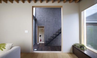 荻窪の家 (リビング3)