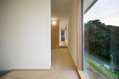 廊下_多目的スペース (大高の家)