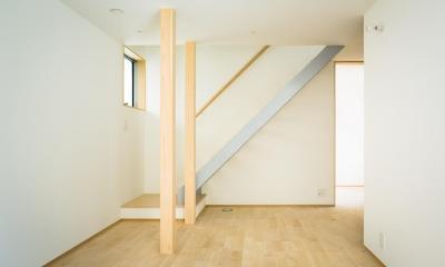 大高の家 (階段ホール)