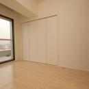 築42年のマンションをデザインを重視しつつバリアフリーに