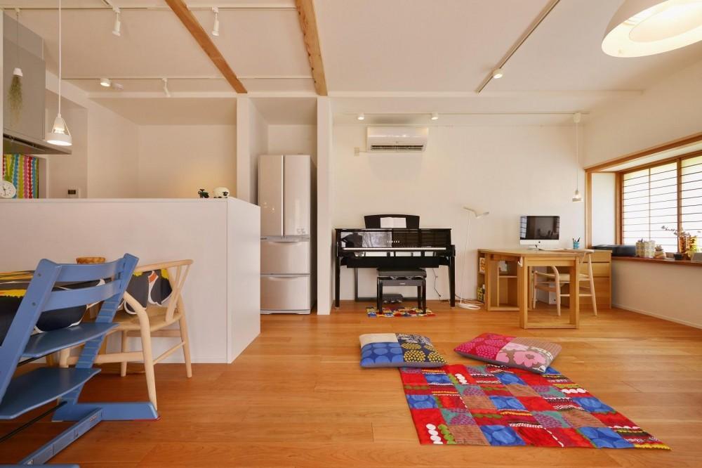 リノベーション・リフォーム会社:夢工房「和風住宅 × 北欧ほっこりcolor」