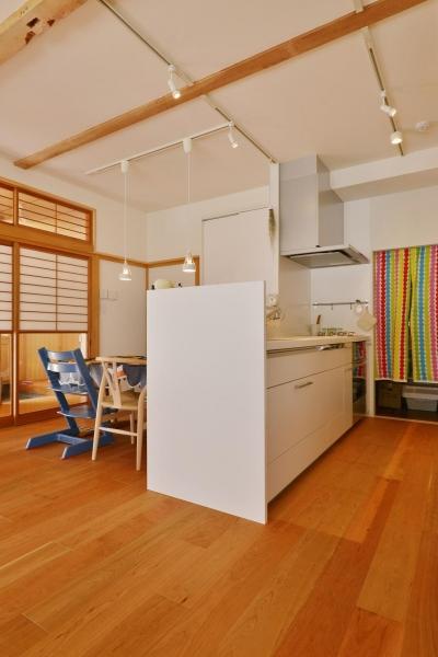 キッチン (横浜市M様邸 ~和風住宅×北欧ほっこりcolor~)