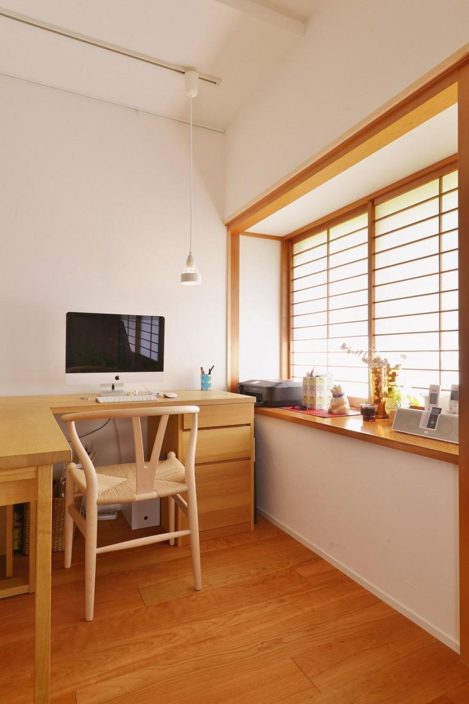横浜市M様邸 ~和風住宅×北欧ほっこりcolor~ (ワークスペース)