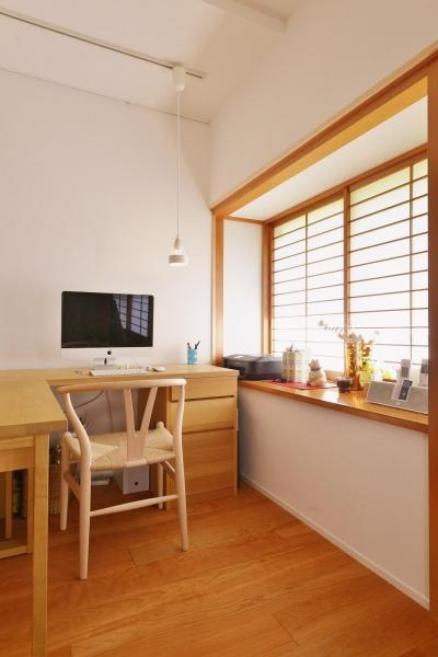 ワークスペース (横浜市M様邸 ~和風住宅×北欧ほっこりcolor~)