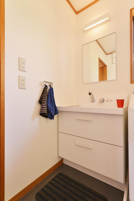 洗面室 (和風住宅 × 北欧ほっこりcolor)