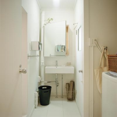 洗面所 (こどもと成長する家)